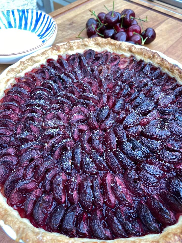 Cherry Pie Without Cream - Picture 1