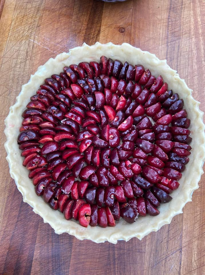 Cherry Pie Without Cream - Picture 2