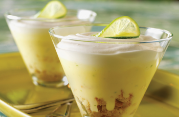 Key Lime Puddings