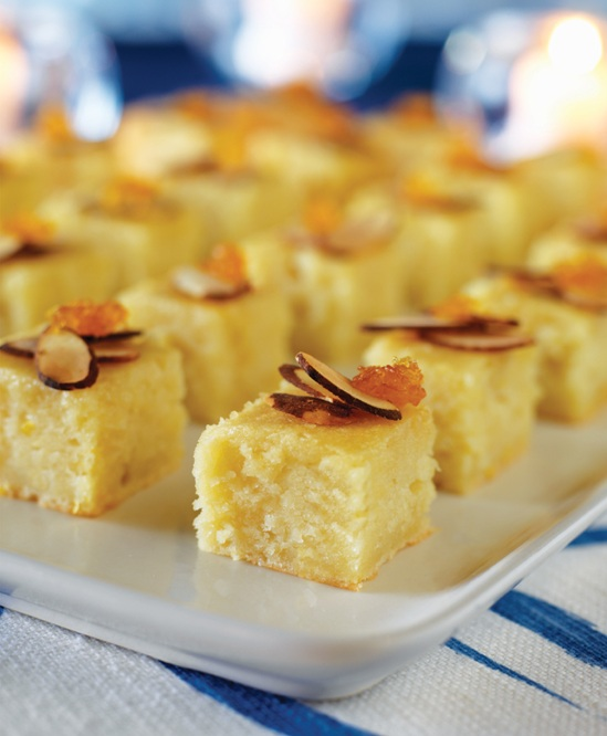 Lemon–Honey Yogurt Squares